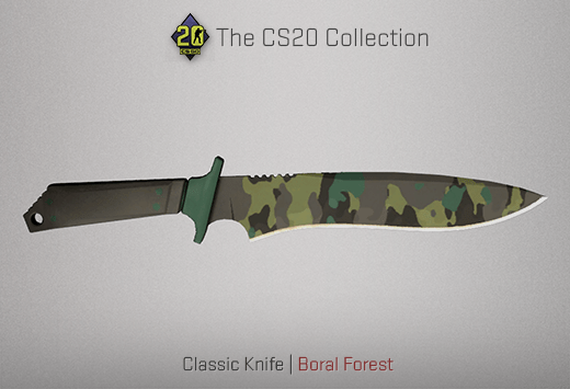 Classic Knife Boral Forest