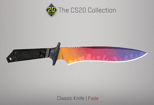 Classic Knife Fade