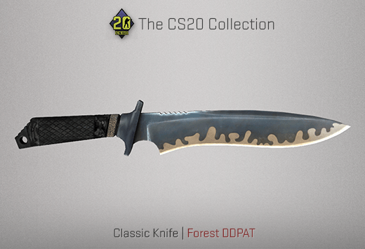 Classic Knife Forest DDPAT