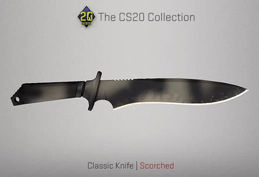 Classic Knife Scorched