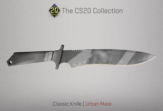 Classic Knife Urban Mask