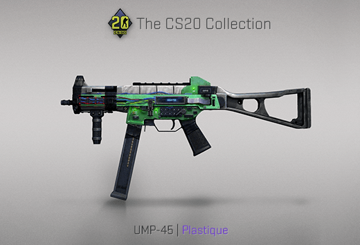 UMP-45 Plastique
