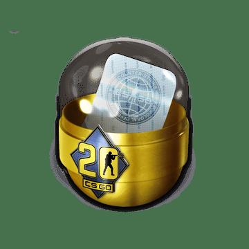 Капсула со стикерами CS20