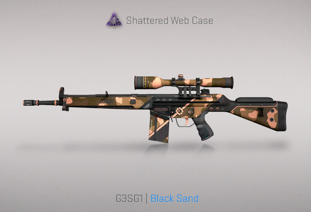 G3SG1 Black Sand