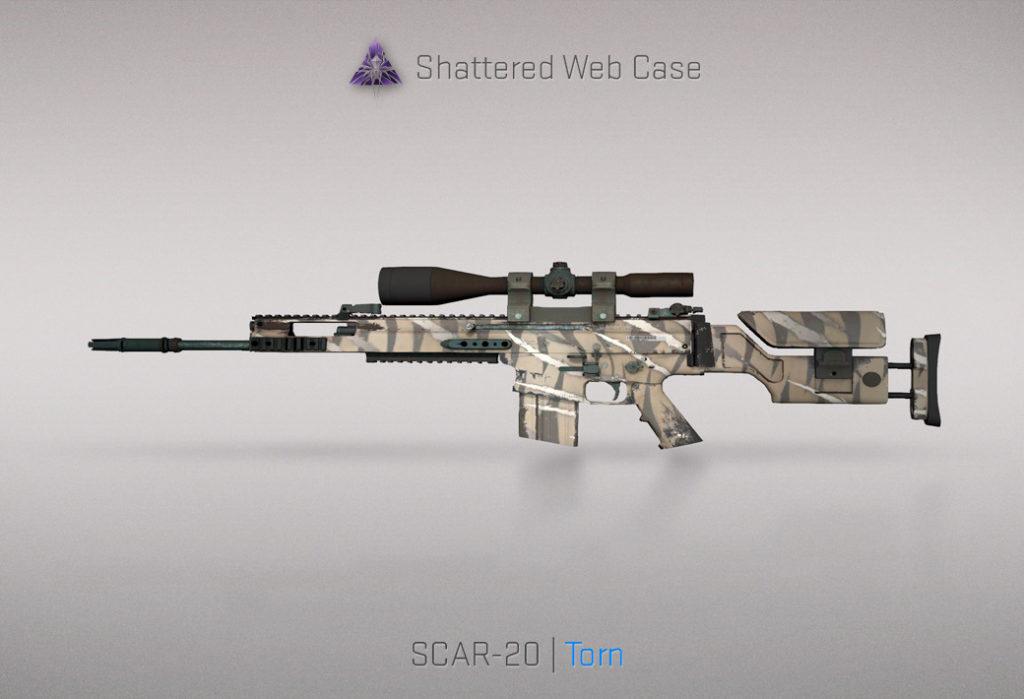 SCAR-20 Torn