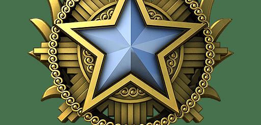 Медаль за службу CS: GO 2020 год 1 уровень