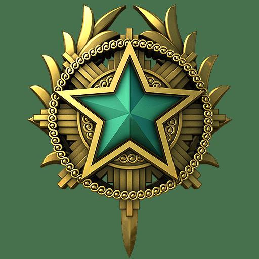 Медаль за службу CS: GO 2020 год 2 уровень
