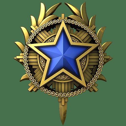 Медаль за службу CS: GO 2020 год 3 уровень