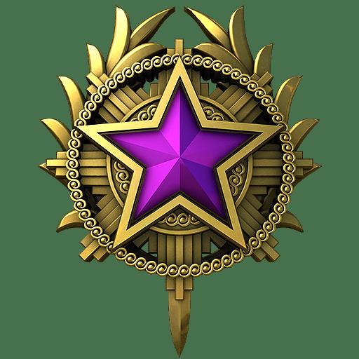 Медаль за службу CS: GO 2020 год 5 уровень