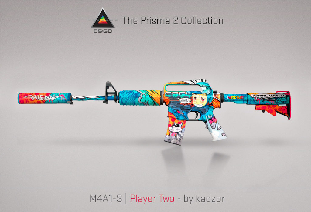 M4A1-S Player Two