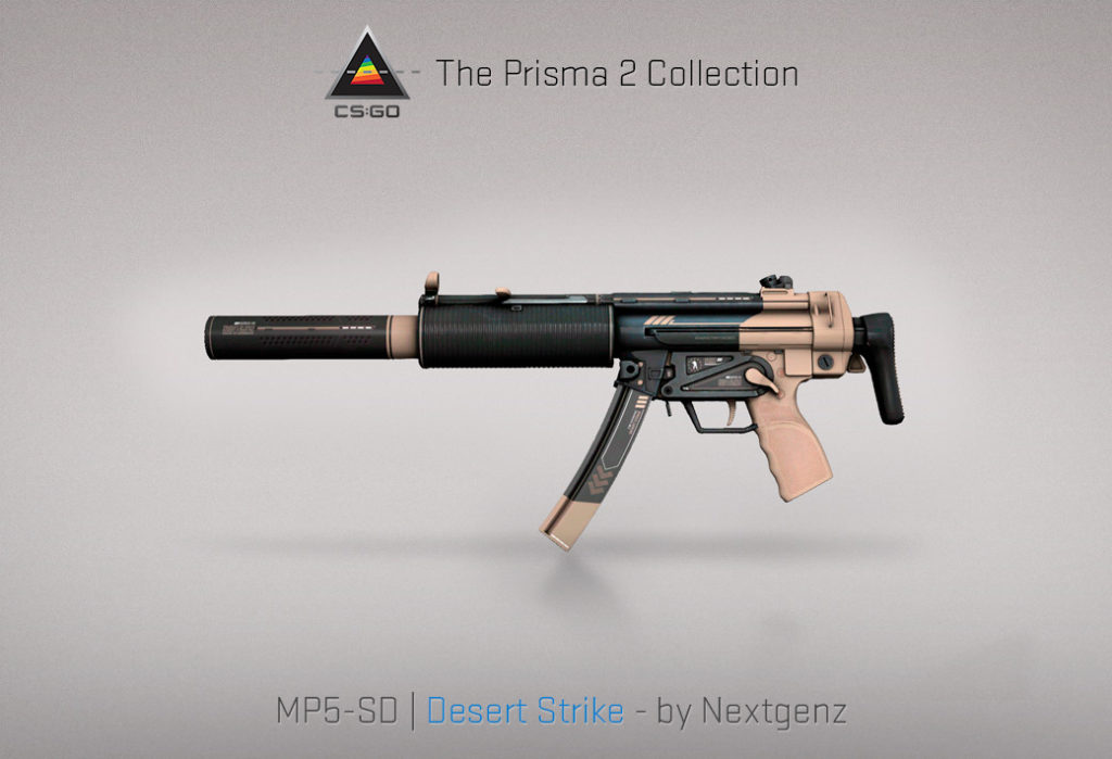 MP5-SD Desert Strike