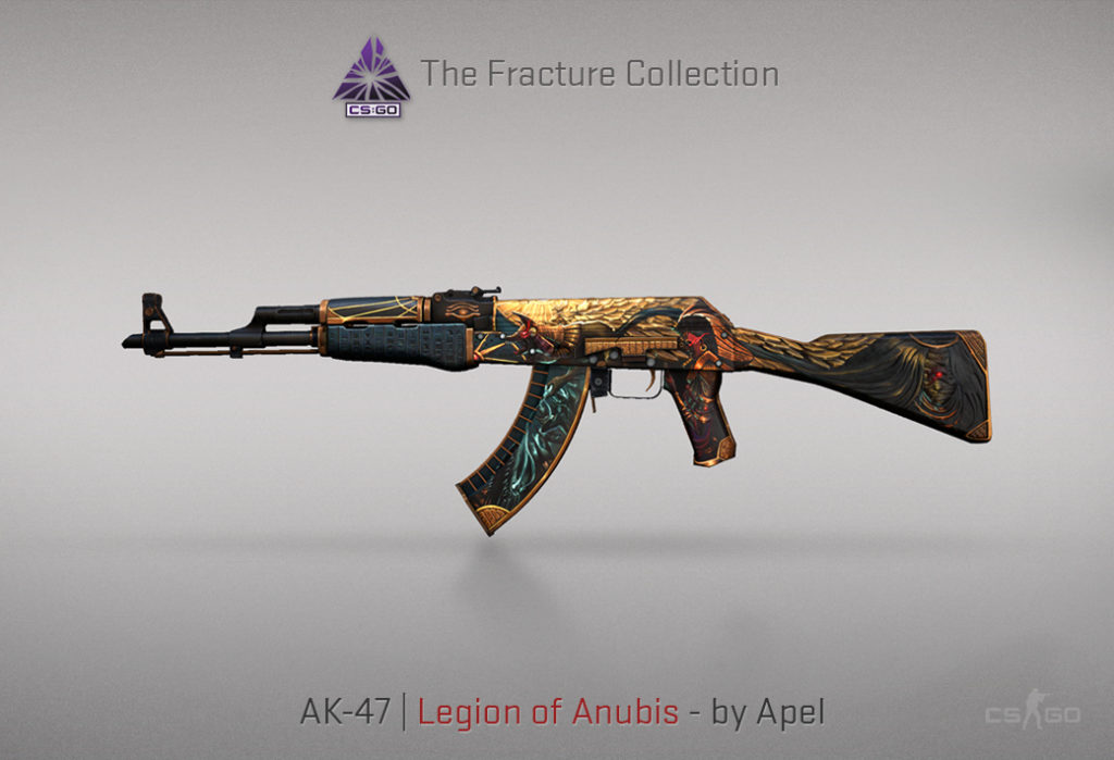 AK-47 Legion of Anubis - Скин из кейса Fracture Case