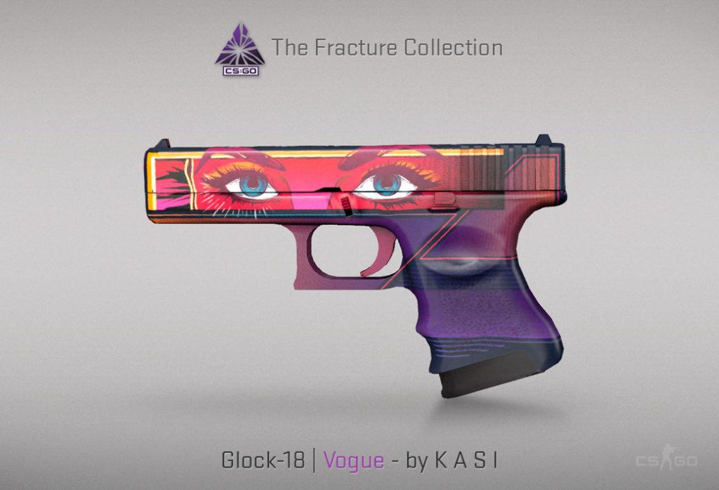 Glock-18 Vogue - Скин из кейса Fracture Case