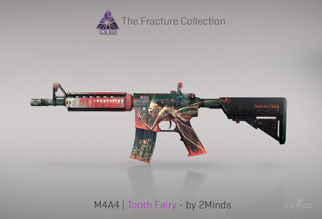 M4A4 Tooth Fairy - Скин из кейса Fracture Case