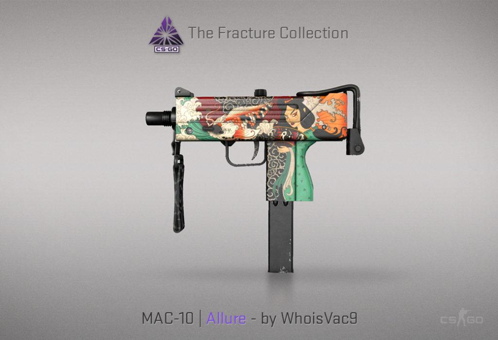 MAC-10 Allure - Скин из кейса Fracture Case