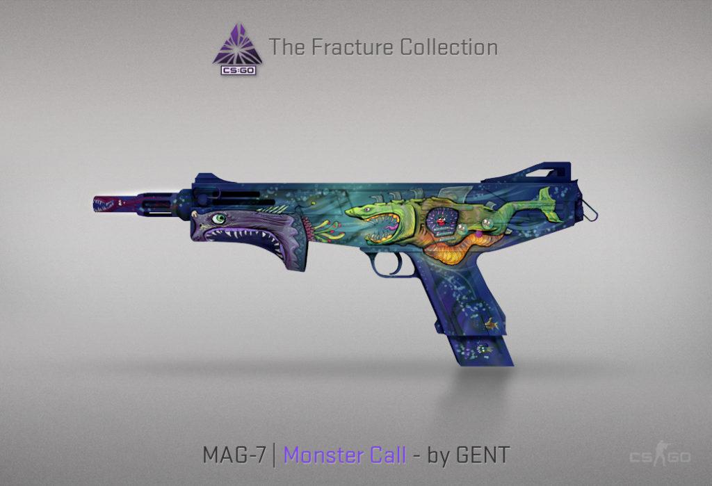 MAG-7 Monster Call - Скин из кейса Fracture Case