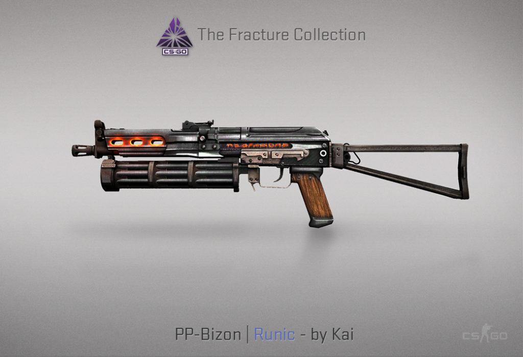 PP-Bizon Runic - Скин из кейса Fracture Case
