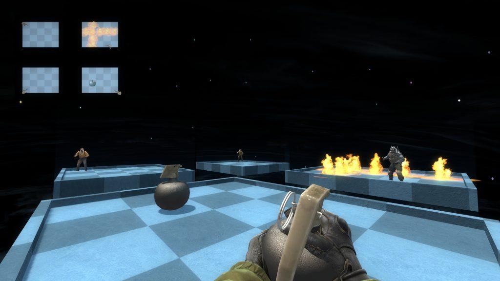 Bomberman - карта для КС ГО с миниигрой