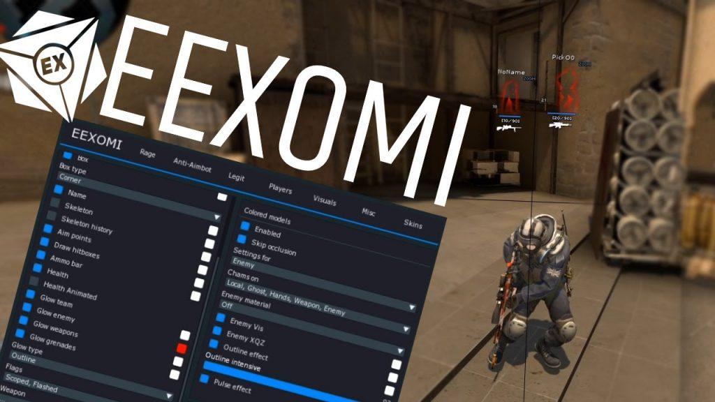 EeXomi чит для КС ГО бесплатно