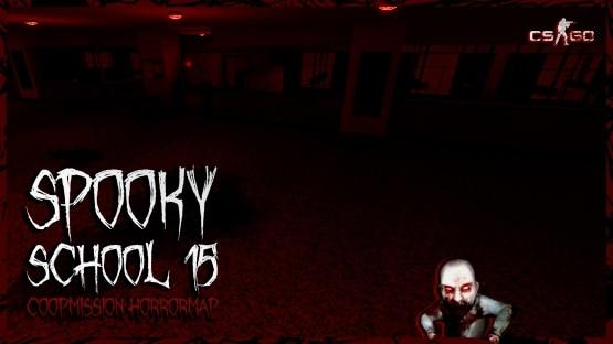 Spooky school 15 - хоррор карта для КС ГО