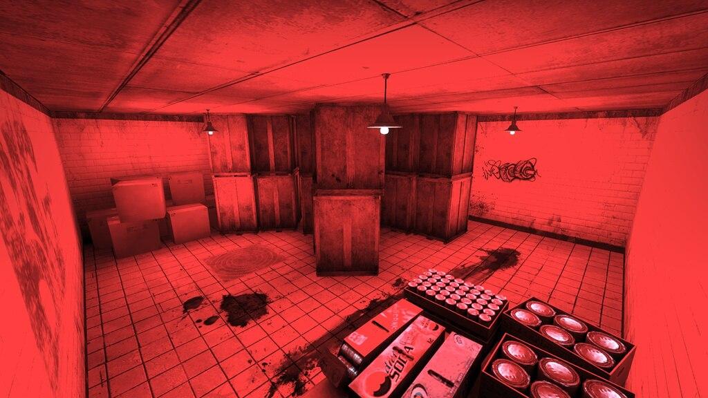 Coop Mission Scare horror map CS:GO